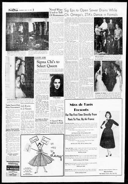 Daily Trojan, Vol. 48, No. 40, November 15, 1956