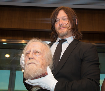 "Smithsonian American History Museum Acquires Objects from ""The Walking Dead"" in Special Ceremony (Oct. 10, 2017)"