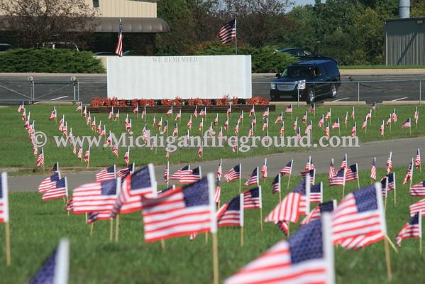 "9/11/12 - Michigan International Speedway - ""Spirit of America"""