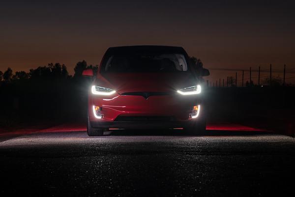 Nader's Tesla Model X P90D