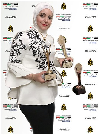 2020-08 Middle East Stevie Awards