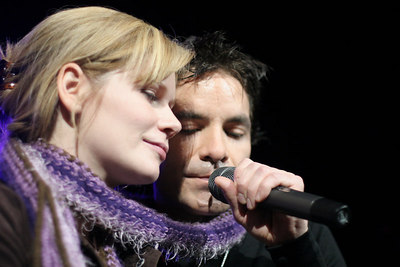 Onstage with TRAIN