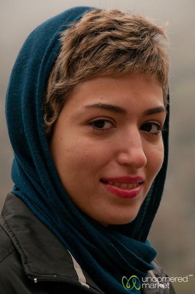 Iranian Woman, a Portrait - Masuleh, Iran