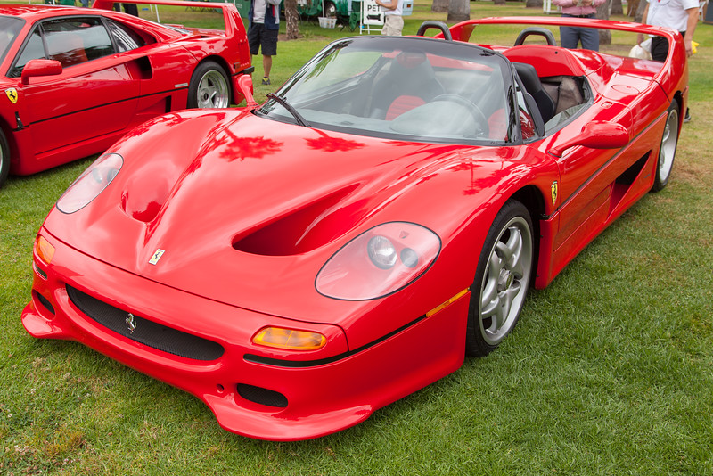 1995 Ferrari F50 owned by David Lee