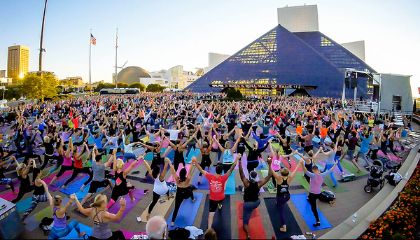 Rock & Roll Hall of Fame - Yoga Class Timelapse Videos