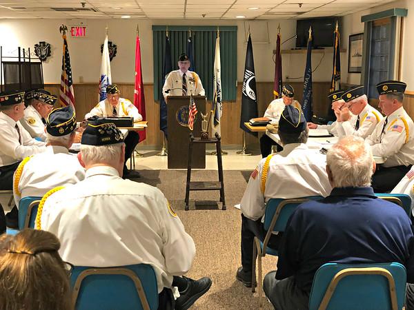 Avon Lake Police Dept. Recognises Post 211, Oct 3, 2018