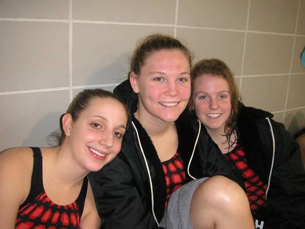 SNHS Swimming Senior Night 2005-2006