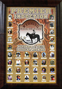 2014 Induction to the Wyoming Cowboy Hall of Fame