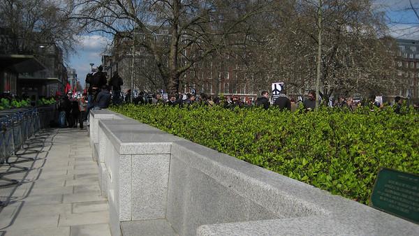 London Protest Apr-2-09