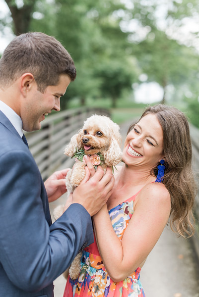 Nicole and Marc's Engagement at the Saucon Valley Country Club