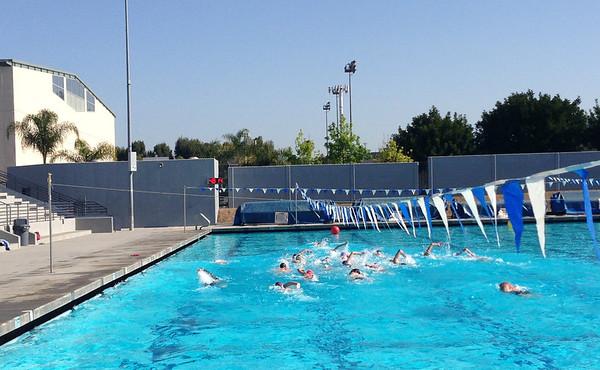 Pool Open Water Practice 4-21-13