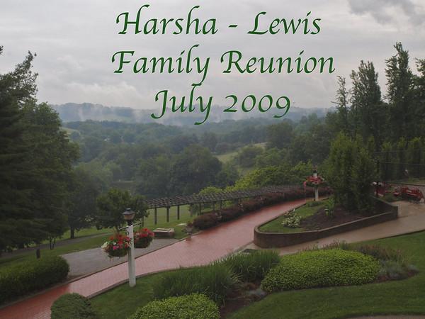 Harsha-Lewis Family Reunion, July 2009