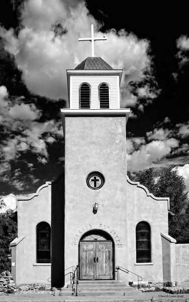 Cerrillos, New Mexico - St. Joseph's Church / Iglesia de San José