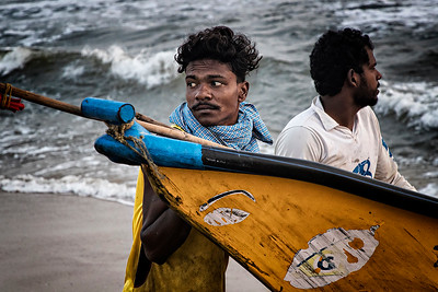 Kovalam Beach Area - Chennai, India