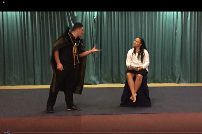 Te Wharekura o Mauao: Hamlet