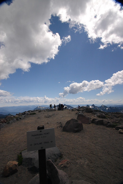 Panorama point - elevation 6800 ft (2060 m)