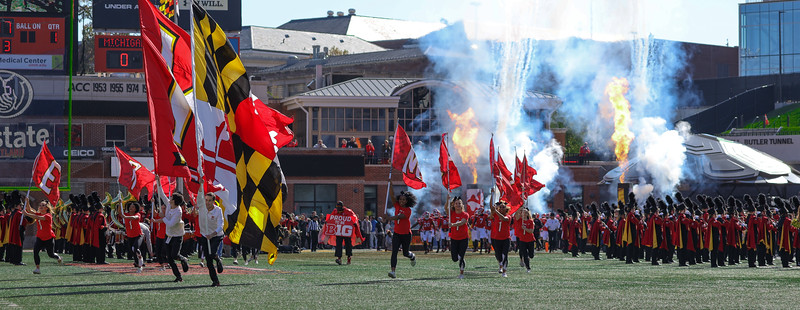 Maryland takes the field!