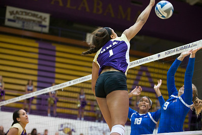 UNA Volleyball vs West Georgia