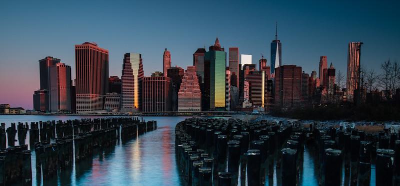 Brooklyn Bridge Park, Sunrise