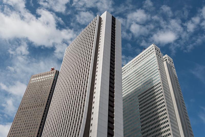Shinjuku Center, Sompo and Nomura Buildings, Nishi-Shinjuku, Tokyo, Japan