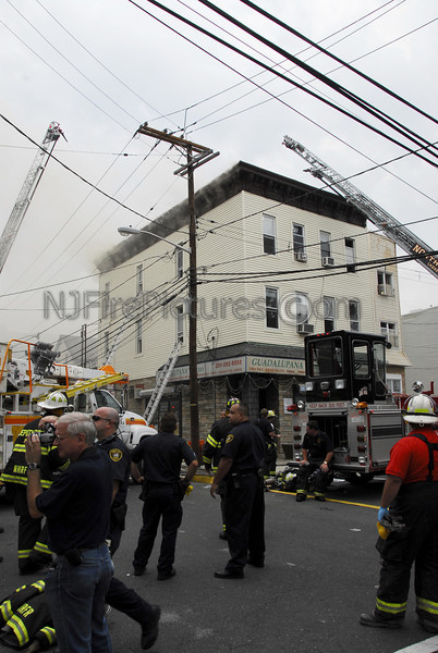 Union City, NJ 5th Alarm 542 29th St. & Central Ave. August 16, 2007