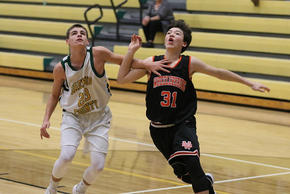 13b Freshmen Basketball:  Wheelersburg at Greenup 2018