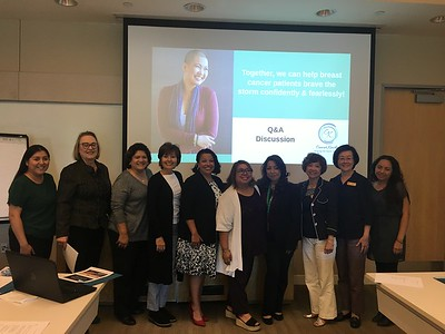 Speaking Engagement & Partnership: Komen LA Patient Advocacy Committee 11.04.19