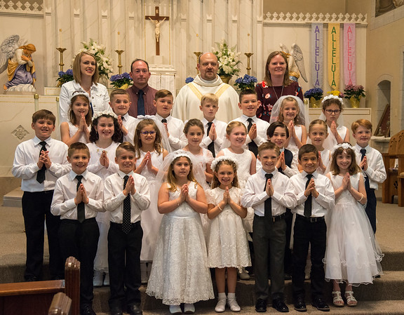 Colton's First Communion