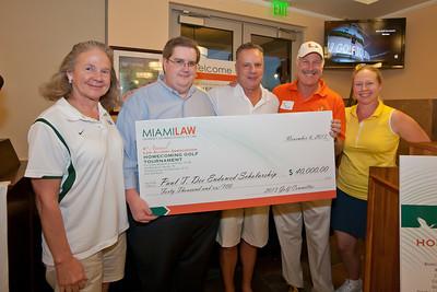 Golf Tournament Awards  - November 6, 2013