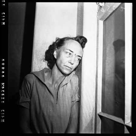 1952, Mrs. Patricia Moore in City Jail