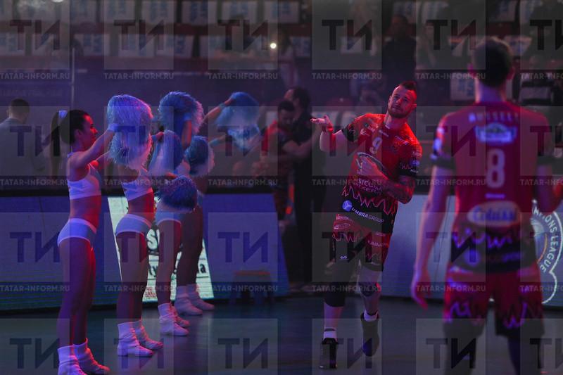 Россия. Казань. 13.05.2018 - Лига чемпионов по волейболу. Финал четырех. матч между ВК Закса (Польша) и ВК Перуджа (Италия) (фото: Ильнар Тухбатов / ИА Татар-информ) Иван Зайцев
