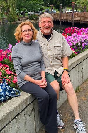 Visiting my sister in Spokane - Aug. 2016 & Feb. 2018