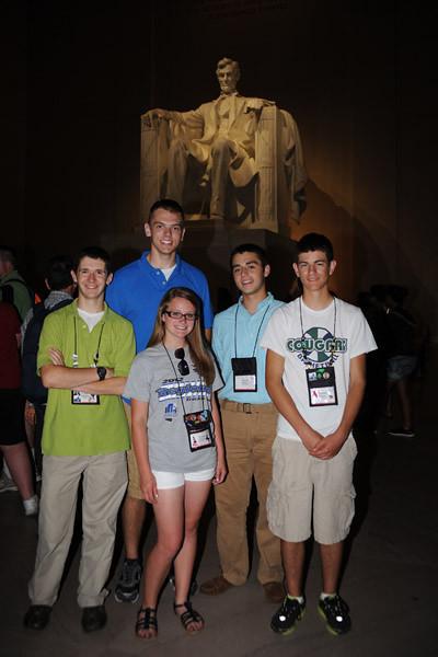 Youth Tour to Washington DC June 15-21, 2012 21681