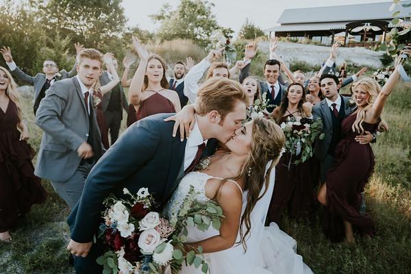 Morgan & Kaleb Wedding Day