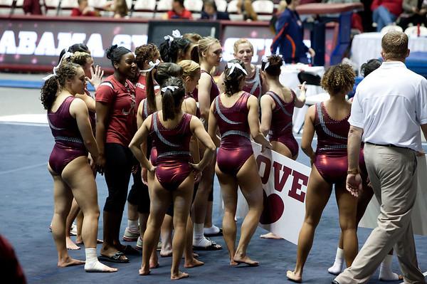 Alabama - Auburn 2013 Gymnastics