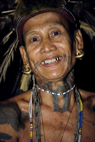 Bunuk, Borneo, Malaysia 1989