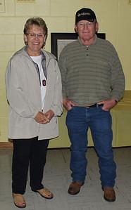 Former Whitney classmates Karen Galey Miller and John Dooley.