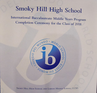 Class of 2018 IB Middle Years Program