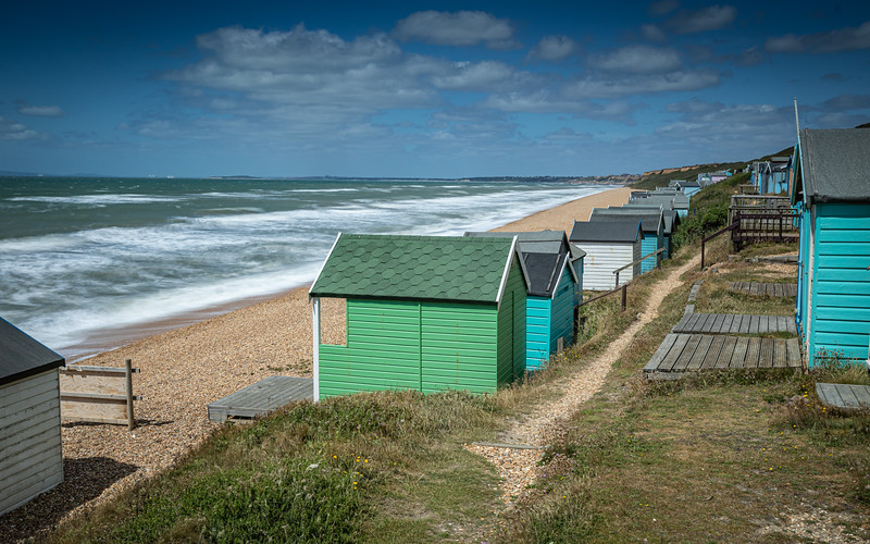 Milford On Sea Beach Huts