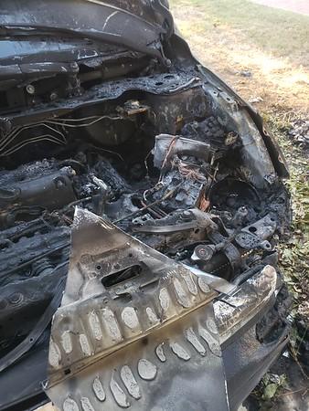 Car fire Aug 2020