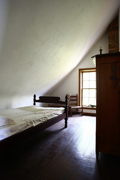 Inside keeper's house