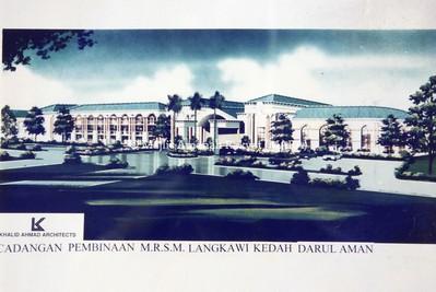 1995 - PELAN STRUKTUR MRSM LANGKAWI, KEDAH