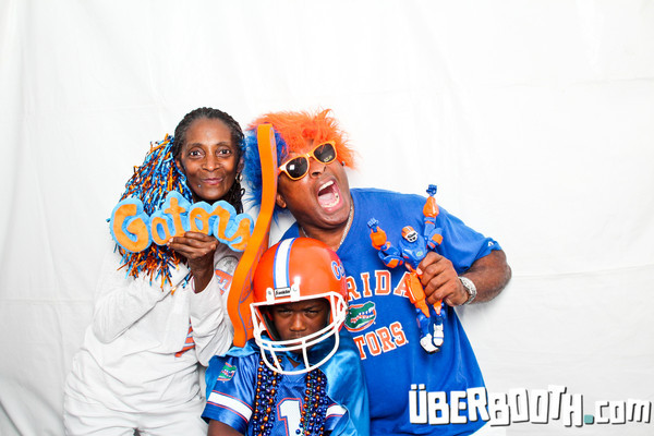 UF Health Booth at Fan Fest 2013