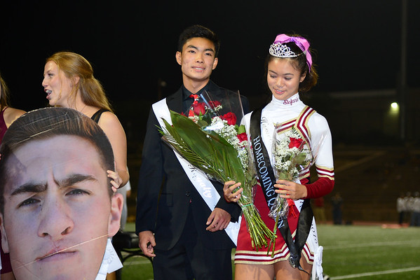 Halftime and Homecoming, TP vs El Camino, 10-13-15
