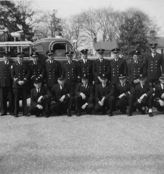 Members going to church 1961
