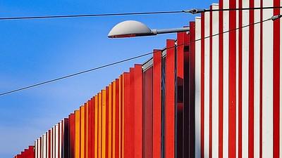 202105 - Urban Landscape in the style of Jeffrey Smart