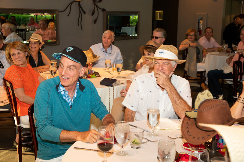 Glenn Franklin 70th birthday party at Marie Gabrielle Restaurant in Dallas Texas on June 3, 2018. (Photo/Gregg Ellman)