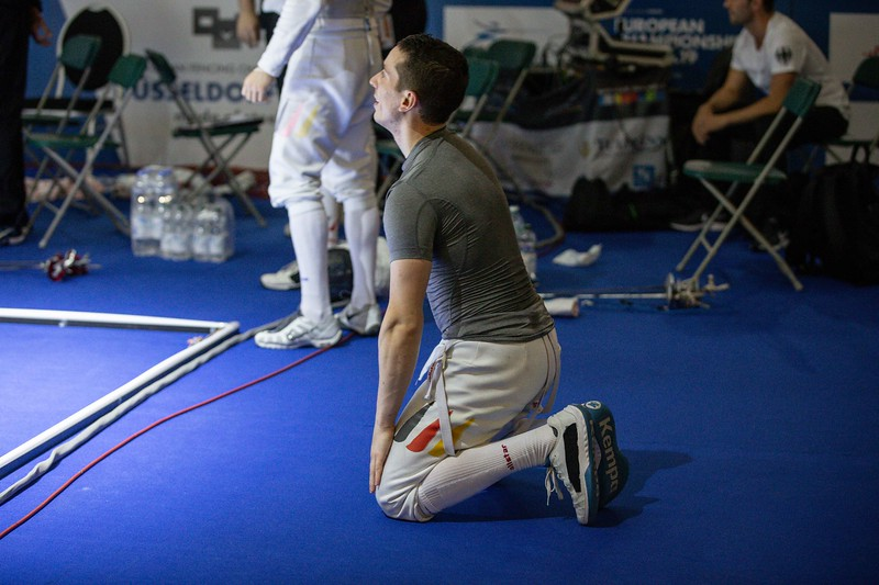 European Fencing Championships 2019 Team Mens Foil, Germany - Italy