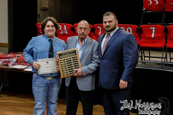 2018 Warrior Football Awards Banquet