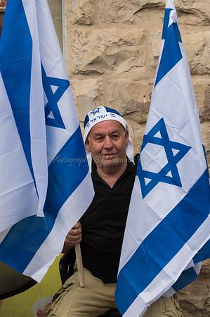 Jerusalem Day Flag Parade